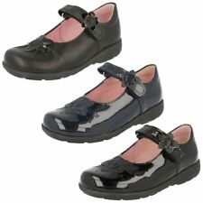 Girls Start Rite Mary Jane School Shoes Violet -w