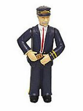 """NEW Bachmann Industries Conductor with Blue Uniform  Large """"G"""" Scale Figure"""