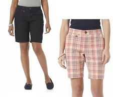 Lee Womens Bermuda Shorts Comfort Fit Mid Rise sizes 6 8 10 12 14 16 18 NEW