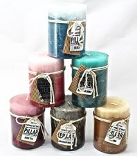 9x10CM Three Layers Shadow Candle Pillar Candle 6 Scents Available