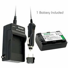 Kastar Battery and Normal Charger Kit for Sony NP-FH50 DSLR-A390 HDR-TG7 DSC-HX1