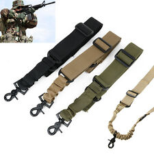 Adjustable Tactical 1 One Single Point For Bungee Rifle Gun Sling System Strap