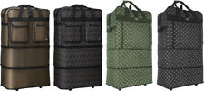 """Pack of 2, 30""""/36""""/40""""Expandable Rolling Wheeled Duffel Spinner Suitcase Luggage"""