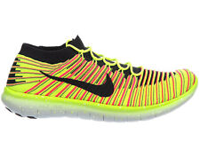 NEW MENS NIKE FREE RN FLYKNIT MOTION RUNNING SHOES TRAINERS MULTI COLOR