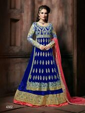 Indian Bollywood Designer Anarkali Suit Salwar Kameez Traditional TFH 4302 A