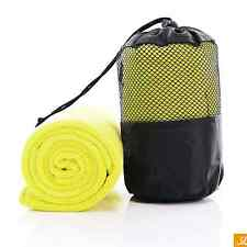 Microfiber Sport Pilates Yoga Towel For Gym Workout Swimming +Portable Carry Bag