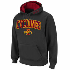 Stadium Athletic Iowa State Cyclones Charcoal Arch & Logo Pullover Hoodie