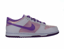 Kids Nike Dunk Low 6.0 JR G GS White Bright Violet Perfect Pink 443089-101
