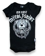 Six Bunneis First Metal Tee Baby Onesie Alternative Punk Rock Gothic Cute Romper