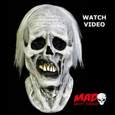 Deluxe CHILLER Latex Collectors Mask -Halloween Zombie Horror Film Costume SCARY
