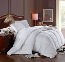 King/Calking Royal Hotel Solid Goose Down Comforter Baffle Box 300TC Four Season