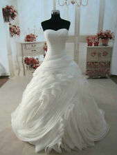 New Bridal Gown Ball Wedding Dress White/Ivory Custom Size 6 8 10 12 14++++++