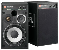 NEW JBL small monitor speakers black Pair 4312M2BK 4312M2-BK worldwide shipping