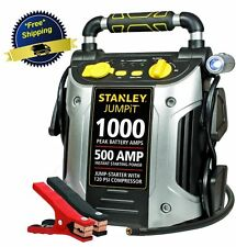 Battery Jump Starter Air Compressor Peak Portable Car Charger Booster Stanley US