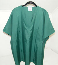 NEW SAFETY SCRUBS LINT BLOOD REPELLENT LATEX FREE MEDICAL NURSING UNISEX TOP XXL