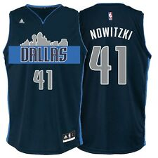 Dirk Nowitzki Dallas Mavericks adidas Youth Swingman Basketball climacool Jersey