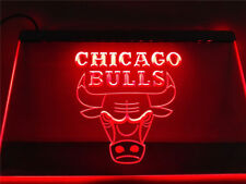 Chicago Bulls LED Neon Sign Bar Room light basketball hanging sign On/Off Switch