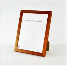 SOLID WOOD - ANTIQUE PINE finish Narrow Photo/Picture Frame- Various Sizes