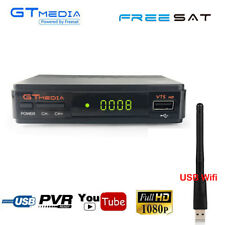 Digital Satellite Receiver DVB-S2 HD Auido TV Box Wifi Recording HDMI + Youtube