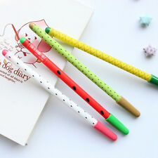1pc Stationery Fruit Unisex Pen Gel Pen Kids Office Gifts Ink Pen/ball Point