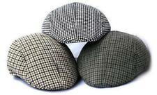 Kids IVY Plaid Houndstooth Newsboy Cabbie Children Boy Girl Hat Flat Cap