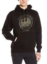 Game Of Thrones STARK SEAL WINTER IS COMING CIRCLE Pullover Hoodie NWT Licensed
