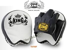 NEW DESIGN TOP KING FOCUS MITTS PADS TKFMP FREE SIZE  TRAINING SPARRING MMA K1
