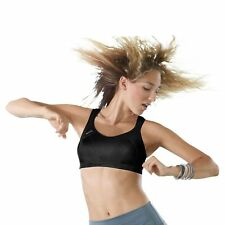 Shock Absorber Womens Black 'Active Support' Non-Wired Non-Padded Sports Bra