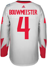 Jay Bouwmeester Team Canada World Cup Of Hockey Adidas Premier Away Jersey