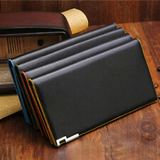 New Long PU Leather Mens Wallet Coin Card Money Holder Purse Cool Style Billfold