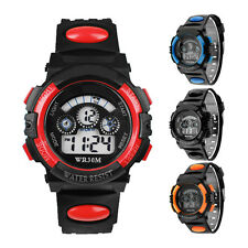 Waterproof Mens Digital LED Alarm Sports Wrist Watch Vogue Watches Gift