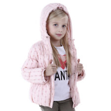Newborn Baby Boy girl Warm Winter Zipper Hooded Coat Outerwear Kid Cotton Jacket