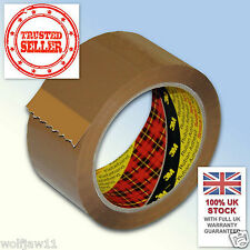 3M™ Scotch® | Box Sealing Parcel Packing 371 Tape | WIDE 75mm x 66m | Buff Brown