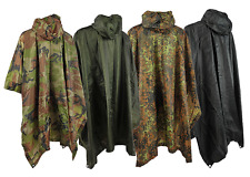 Army Rain Poncho US Poncho Rip Stop Angler Cape Rain jacket Cape in 4 colors