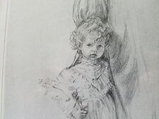 "SANDRA KUCK--signed limited sketch edition ""Shy One"""