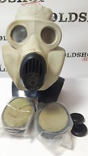 Soviet Army Gas Mask PBF EO-19 only DIRTY with filter USED Gray Rubber