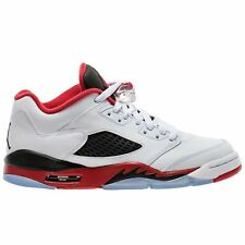 NEW Nike Air Jordan 5 Retro Low (GS) Sz 4 or 4.5 Youth Shoes 314338 101 Fire Red