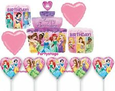 DISNEY PRINCESS BALLOONS WITH AIR MINI SHAPES DECORATIONS FAVORS CENTERPIECES