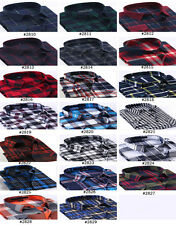 Luxury Fashion Men Highquality Casual Stylish Long Sleeve Plaids Shirts Slim Fit