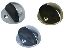 Adoored HALF MOON DOOR STOP - Satin Chrome, Polished Chrome Or Polished Brass