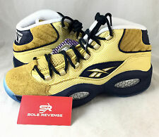 NEW Reebok Question Allen Iverson Only the Strong Survive Gold Black BD3875 f1