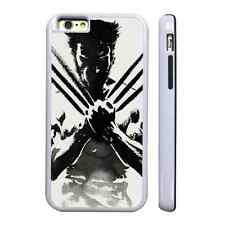WOLVERINE CLAWS WHITE PROTECTIVE PHONE CASE COVER FITS IPHONE 4 5 6 7
