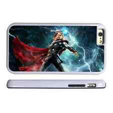 THOR HAMMER WHITE PROTECTIVE PHONE CASE COVER FITS IPHONE 4 5 6 7