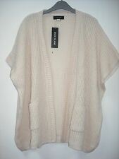 BNWT River Island Batwing Cardigan (no sleeves) Cream Age 5-12 Yrs
