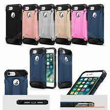 "For Apple iPhone 7 (4.7"") - Tough Military Armour Shockproof Rugged Armor Case"