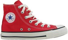 CONVERSE CHUCK TAYLOR ALL STAR HI M9621  CLASSIC RED  TRAINERS
