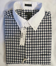 NWT J.Crew Men's Slim White-Collar Shirt In Classic Navy Gingham SZS XS,S,M,L,XL
