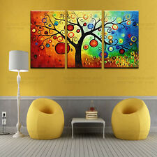 Huge modern abstract art oil painting Printed on canvas picture-trees No Framed