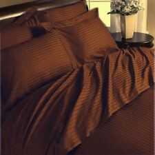 US Bedding Collection 1000 TC 100%Egyptian Cotton Chocolate Color Twin-XL Size