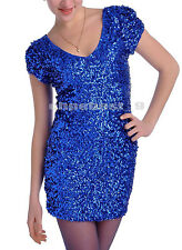 Ladies 1920's Flapper Dresses Gatsby Charleston Sequins 20s Party Fancy Costumes
